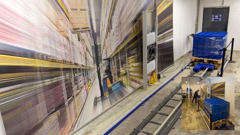 EECC Schienenbahn für angewandte dynamische Messungen. Foto EECC