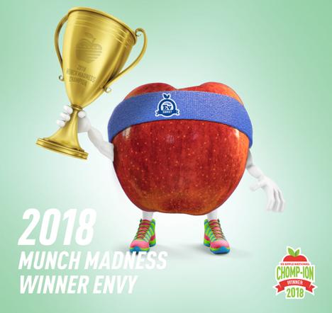 Envy™-Apfel von US-Verbrauchern wieder zum Favoriten gewählt