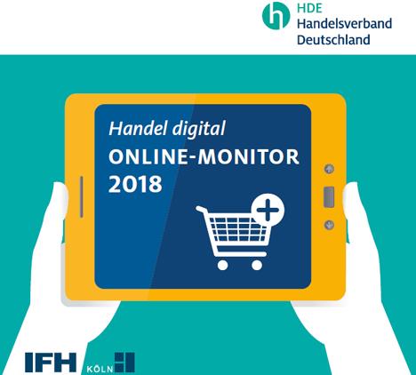 Bild HDE-Online-Monitor 2018 - Quelle HDE