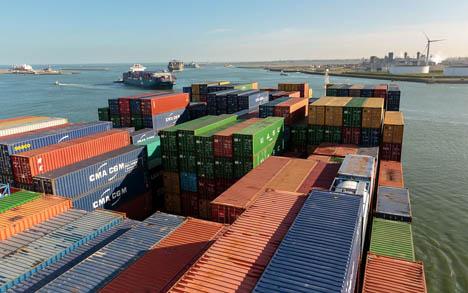 Container. Foto © Hafen Rotterdam
