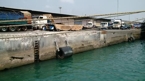 Hafen von Cotonou.Foto  © Antwerp Port Authority