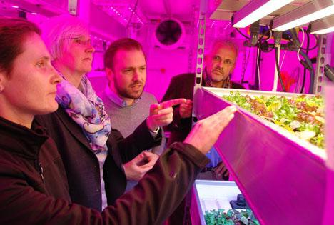 HSWT forscht im Growtainer: Gemüsering Thüringen finanziert das mobile Gewächshaus