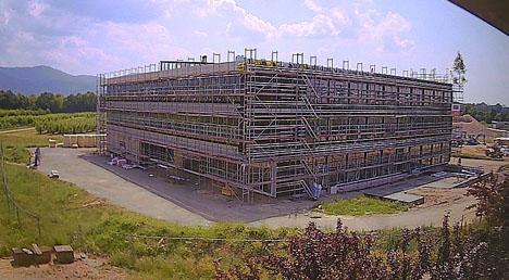 """Am Standort Dossenheim entsteht für die JKI Institute """"Pflanzenschutz in Obst- und Weinbau"""" sowie """"Biologischen Pflanzenschutz"""" ein Neubau. Foto JKI"""