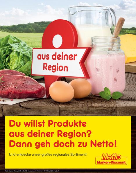Foto © Netto Marken-Discount Anzeige Regionalität 2018