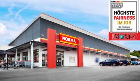 "Der Discounter NORMA aus Nürnberg. Quelle: ""obs/NORMA"""