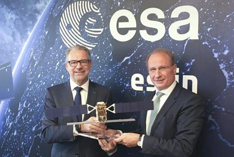 Dr. Josef Aschbacher und Dr. Kurt Weinberger. Foto © Österreichische Hagelversicherung