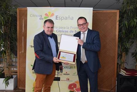 Oliver Huesmann wird Botschafter der spanischen Citrusbranche für Asien