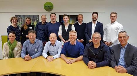 Die DFHV-Junioren bei ihrer Sitzung in Berlin. Foto © DFHV