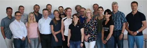 Die Teilnehmer der DeLOG-Frühjahrssitzung 2018. Foto DFHV