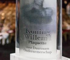 Bild: Koning Willem I Plaquette voor Duurzaam Ondernemerschap. Quelle: Eosta