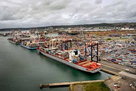 Durban Container Terminal. Foto © Transnet Port Terminals