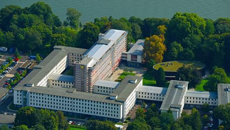 Die BLE in Bonn-Mehlem. Foto © Bundesanstalt für Landwirtschaft und Ernährung (BLE)/ euroluftbild.de