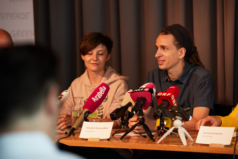 """Foto © Greenpeace/Initiative """"Klimafreundliche Landwirtschaft"""""""