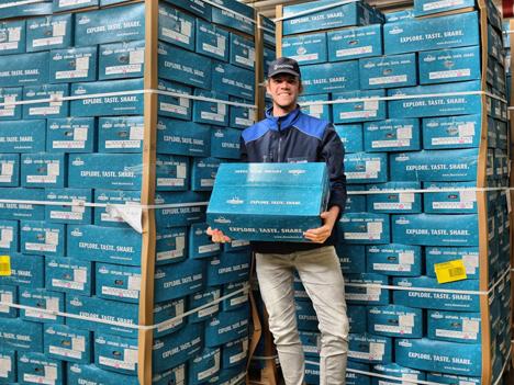 Remco Verwaal, Account Manager bei ABC Logistics. Foto © Hafenbetrieb Rotterdam