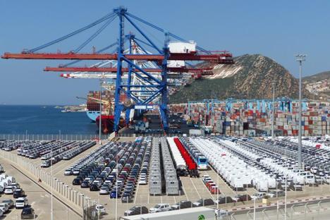 Foto © Tanger-Med-Megaterminals