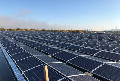 Erneuerbare Energien sind Bestandteil von METROs Klimastrategie. Foto © Metro