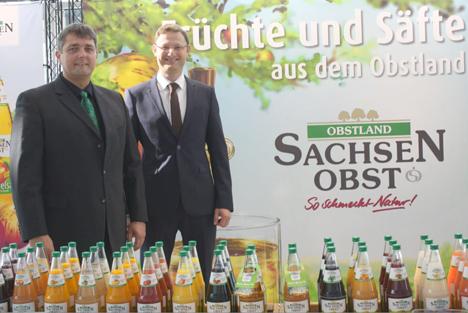 Vorstand Jan Kalbitz und Mathias Möbius. Foto © Obstland Dürrweitzschen AG