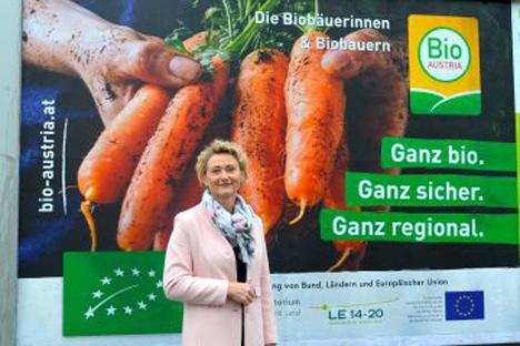 BIO AUSTRIA-Obfrau Gertraud Grabmann. Foto © Bio Austria