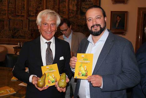 Foto © Paolo Bruni, Präsident CSO Italy, mit Alan Fabbri, Bürgermeister von Ferrara