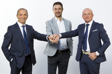 Giuseppe, Andrea - Domenico, Battagliola Foto © La Linea Verde