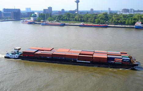 Intercity Barge. Foto © European Gateway Services