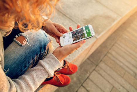 real.digital App. Foto © Ots/real GmbH