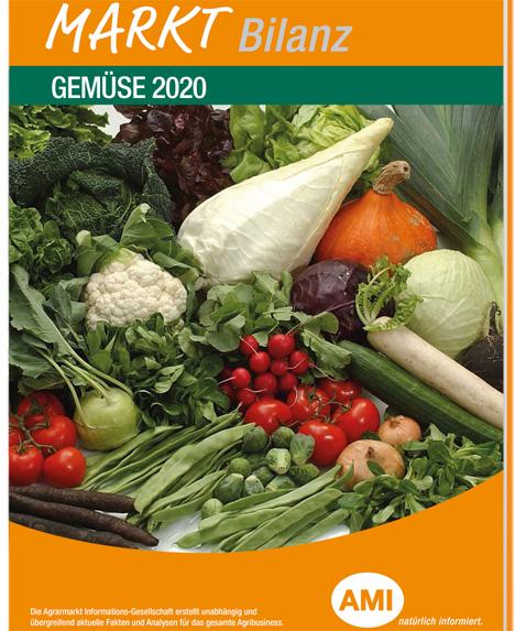 Cover AMI Markt Bilanz Gemüse 2020. Foto © Agrarmarkt Informations-Gesellschaft mbH