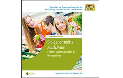 """Cover Broschüre """"Bio-Lebensmittel aus Bayern"""""""