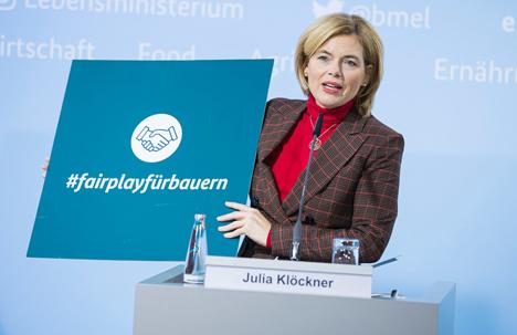 Bundesministerin Julia Klöckner. Foto © Bundesministerium für Ernährung und Landwirtschaft/Photothek