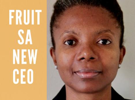Fhumulani Ratshitanga CEO Fruit South Africa (Fruit SA) Foto ©  Hortgro Fruit SA