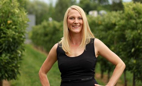 Dr. Inga Mohr, von Obst vom Bodensee. Foto © BVEO / Obst vom Bodensee