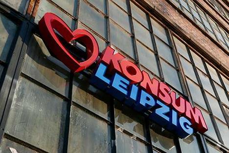 Konsum Leipzig. Foto © Anika Dollmeyer