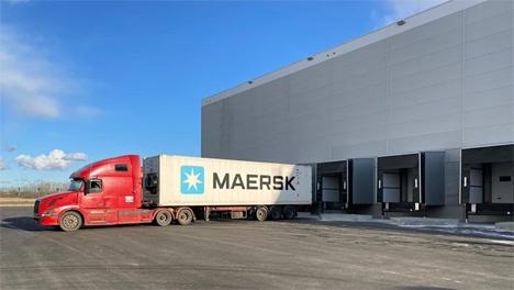 Maersk Kühllager in St. Petersburg/Russland. Foto © Maersk