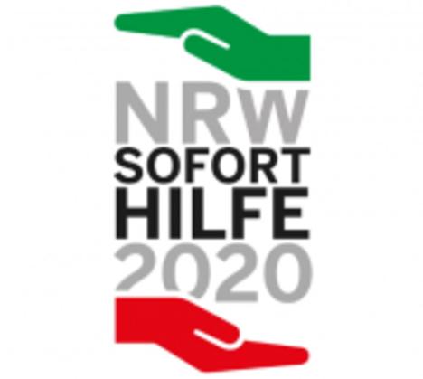 Logo NRW-Soforthilfeprogramm Corona