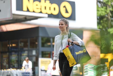 Netto-Markt in Deutschland (aktueller Markt). Foto © obs/Netto/Netto Deutschland