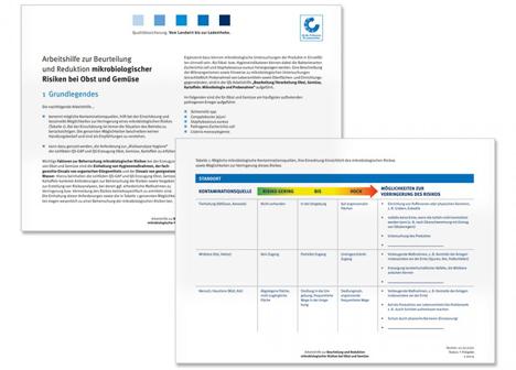 QS-Arbeitshilfe  Bild ©  QS Qualität und Sicherheit GmbH