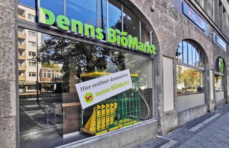 Neuer Markenauftritt für Denns Biomarkt. Foto © Supermarktblog/ Denns Biomarkt
