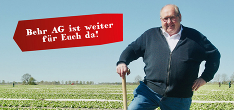 Behr AG  - Praktiker geben der Kampagne ein Gesicht. Foto © BVEO