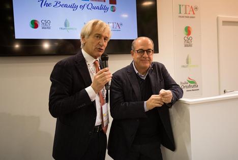 Bruni und De Castro sind zufrieden. Foto © CSO Italy