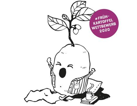 Unter www.kartoffel.ch gibt es einen Frühkartoffel-Wettbewerb. (Bild © Swisspatat)