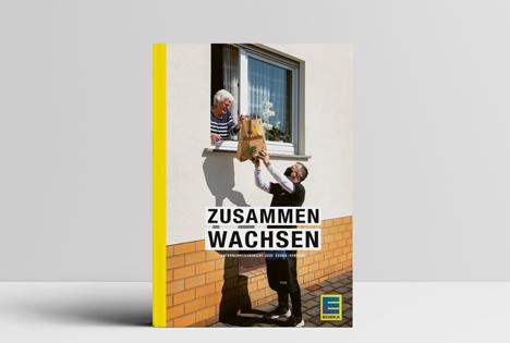 """EDEKA-Geschäftsbericht """"Zusammen Wachsen"""" für das Jahr 2020. Foto © EDEKA"""