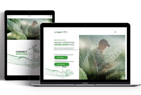 Landgard startet mit neuer Onlineplattform, die die Grüne Branche verbindet, in die Saison 2021