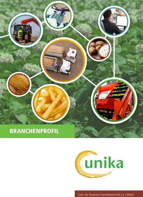 Bild Branchenprofil der deutschen Kartoffelwirtschaft. Quelle: Unika