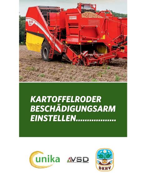 Cover Merkblatt Kartoffelroder beschädigungsarm einstellen Foto © Unika
