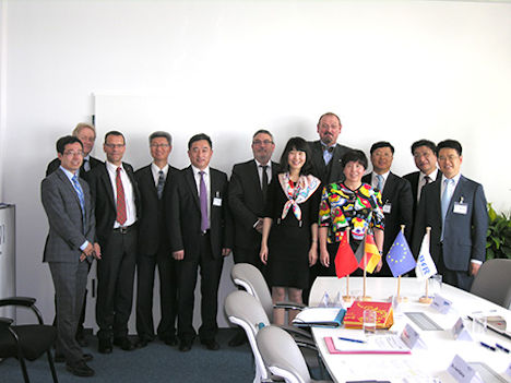China Drug and Food Administration (CFDA) zu Besuch am Bundesinstitut für Risikobewertung (BfR)