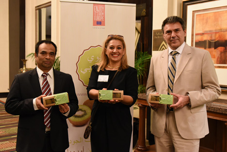 "Kampagne ""Premium European Kiwi"" mit großem Erfolg in Dubai gestartet"