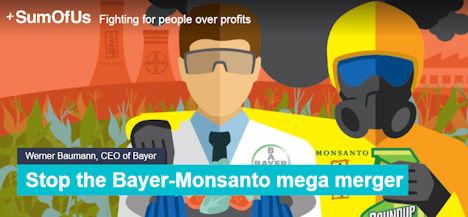 Stop the Bayer-Monsanto mega merger