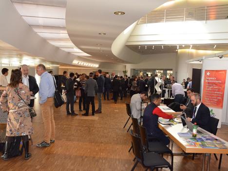 Rund 1050 Delegierte und über 500 Firmen aus 52 Ländern nahmen an der Veranstaltung teil. (Foto: FiBL, Andreas Basler)