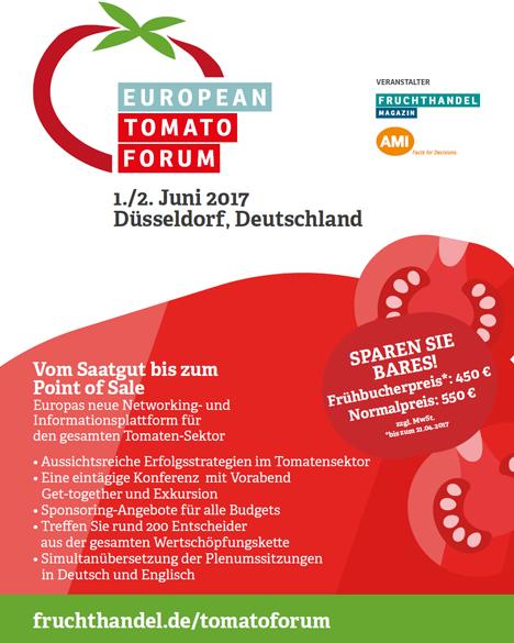 Europäisches Tomatenforum Poster Bild AMI