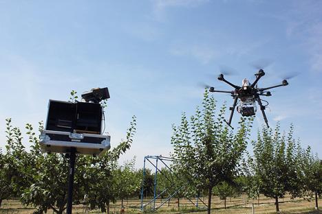UAV Einsatz am ATB-Forschungsstandort Marquardt (Foto: ATB)